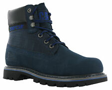 Caterpillar Colorado Leather Black / Midnight Work Walking Hiking Lace Boots