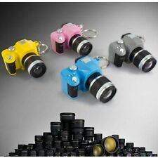 Mini Toy Camera Charm Lucky Keychain With Flash LED Light & Sound Effect Gifts