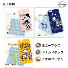 Disney iPhone 6s/6 case + design protection film starting set Serect Pattern JPN