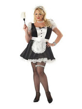 Womens Fiona The French Maid Plus Costume