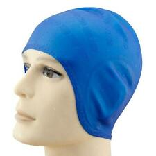 New Unisex Adult Silicone Swim Swimming Hat Cap One Size Fit All