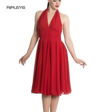 Hell Bunny Pinup Party Cocktail 50s Dress Marilyn MONROE Vintage Red All Sizes