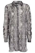 La Redoute Black & Grey Chiffon Print Tunic Top £5 Stock clearance in our shop