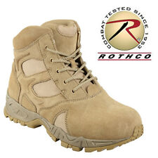 Rothco Men's 6 Inch Forced Entry Desert Tan Deployment Boot 5368 Military Shoes