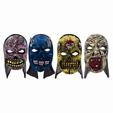 Scary Hooded Mask Scary Evil Horror Deluxe Halloween Fancy Dress Costume Party