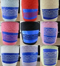 Wholesale 10yards embroidery lace ribbon colors can be selected(13 color)
