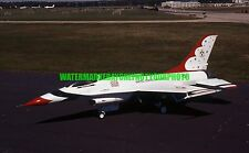 USAF General Dynamics F-16A Fighting Falcon Color Photo Military F 16 2016