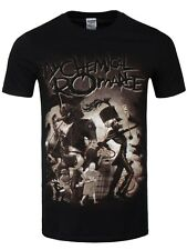 My Chemical Romance On Parade Men's Black MCR T-shirt