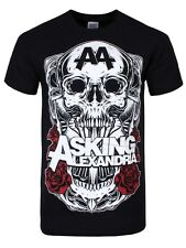Asking Alexandria Black Shadow Men's Black T-Shirt - NEW & OFFICIAL
