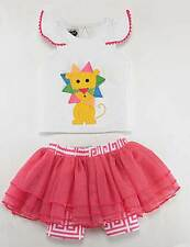Mud Pie Baby SAFARI LION SKIRT SET Sizes: 0-6, 6-9, 9-12, 12-18, & 2T
