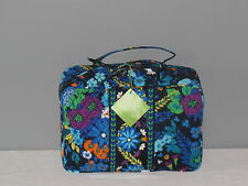 VERA BRADLEY NEW WITH TAG  MIDNIGHT BLUES GRAND COSMETIC TRAVEL