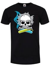 New Skullduggery T-Shirt - Evil Genius Black Mens