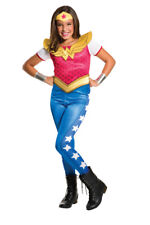 Girls Child Wonder Woman DC Comics Costume