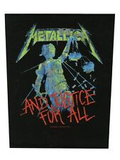 Metallica And Justice For All Backpatch - NEW & OFFICIAL