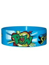DC Comics Superman Pow! Rubber Wristband - NEW & OFFICIAL
