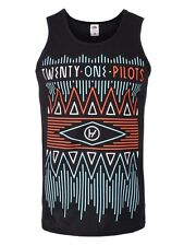 Twenty One Pilots Zig Zag Men's Black Tank Top