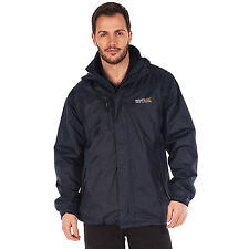 Regatta Mens Jacket Ledger 3 in 1 Waterproof breathable Isotex 5000 With Logo