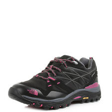 Womens The North Face Hedgehog Fastpack GTX Black Pink Hiking Trainers UK Size