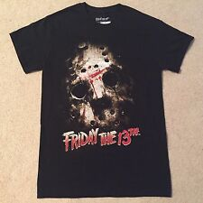 FRIDAY The 13th JASON Voorhees mask HORROR Slasher movie ax MEN'S New T-Shirt