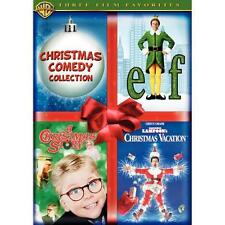 NEW Christmas Comedy Collection (DVD, 2007, 3-Disc Set) - Elf A Christmas Story