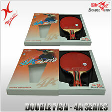 DOUBLE FISH TABLE TENNIS - 4A SERIES BAT - LONG HANDLE / SHORT HANDLE BLADE