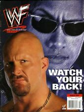 THE ROCK/STONE COLD STEVE AUSTIN WWF Wrestling Magazine March 2001 TRISH STRATUS