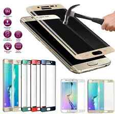 For Samsung Galaxy S6 S7 Edge Temper Glass Full Cover Curved Screen Protector
