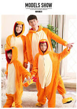 Unisex Adult Animal Onesie Pokemon Charmander Kigurumi Cosplay Costume Pajamas@1