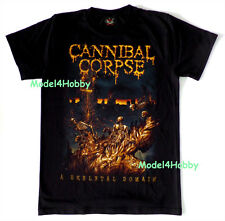CANNIBAL CORPSE T-Shirt Black S M L XL SKELETAL DOMAIN DEATH METAL SKULL GHOST