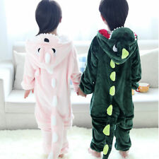 NEW Gif Pajamas Kigurumi Unisex Cosplay Animal Costume Kid Dinosaur Onesie