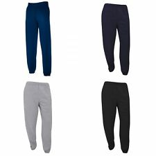 Fruit Of The Loom Mens Elasticated Cuff Jog Pants / Jogging Bottoms