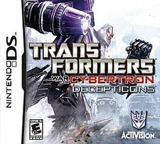 NEW Transformers: War for Cybertron - Decepticons edition (Nintendo DS, 2010)