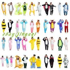 New Unisex Adult Pajamas Kigurumi Cosplay Costume Animal Onesie Sleepwear Suit