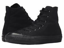 CONVERSE CHUCK TAYLOR ALL STAR 2016 FASHION HI TOP BLACK MENS SHOES *ALL SIZES