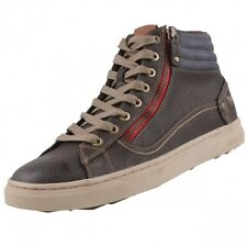 new MUSTANG Men's shoes High Top Trainers Boots lined Casual Shoes