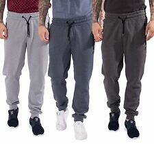 KANGOL MENS CUFFED JOGGER TRACKSUIT BOTTOMS DRAWSTRING ELASTICATED SWEATPANTS