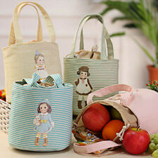 Thermal Insulated Box Cooler Tote Lunch Bag Storage Case Bento Pouch Picnic Bag