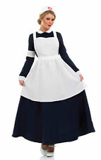 LADIES FLORENCE NIGHTINGALE NURSE BOOK WEEK COSTUME VICTORIAN OUTFIT NEW S  XXL