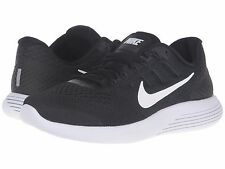 NIKE LUNARGLIDE 8 BLACK ANTHRACITE WHITE 2016 MENS RUNNING SHOES **ALL SIZES