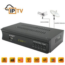 FTA Full HD DVB-T2 + DVB-S2 Combo Satellite Receiver Wifi USB PVR Youtube TV Box
