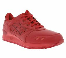 NEW asics Gel-Lyte III Shoes Men's Sneakers Trainers Red H63QK 2323 SALE WOW