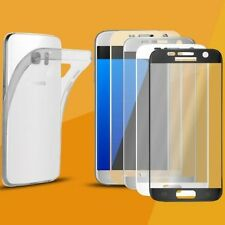 CASE + 3D Curved Glass Foil Armored Glass FULL SCREEN Protective Glass Film