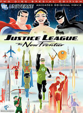 Justice League: The New Frontier (DVD, 2008, 2-Disc Set, Special Edition)