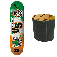 PLAN B Skateboard Deck LADD MASCOTTS 7.87 with MOB Griptape