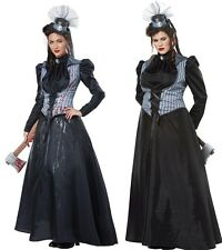 Supernatural Victorian Lizzie Borden Costume Haunted House Musuem Crime Murder