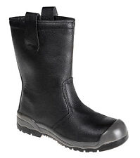 Portwest Workwear Steelite Rigger Boot S1P CI (With scuff cap) - FW13