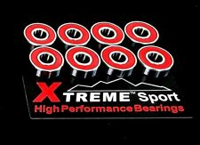 608 RS ABEC 11 XTREME SUPER SMOOTH HIGH PERFORMANCE BEARINGS SKATEBOARD SCOOTER*