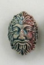 Raku Greenman Ceramic Beads, 36mm, Choice of Lot Size & Price
