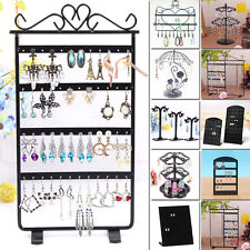 Black Organizer Stand Holder Earring Shower Hot Jewelry Display Ear Stud 12 Type