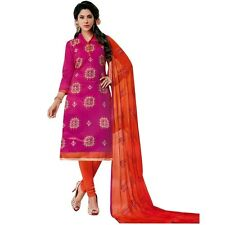 Ready to Wear Silk Embroidered Salwar Kameez Suit Indian Dress-Olympic-49003